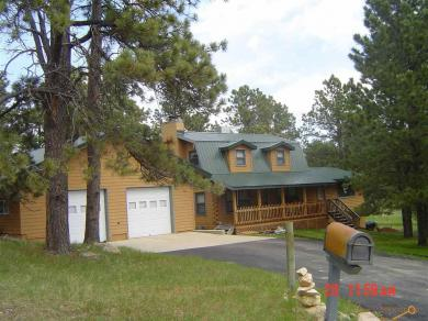 8504 Lark Ln Log Home, Black Hawk, SD 57785