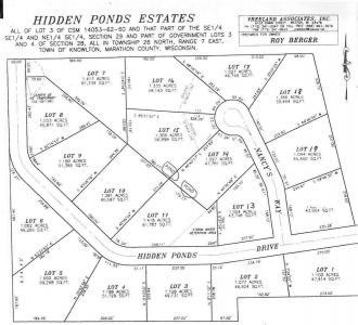 Lot 11 Hidden Ponds Drive, Mosinee, WI 54455