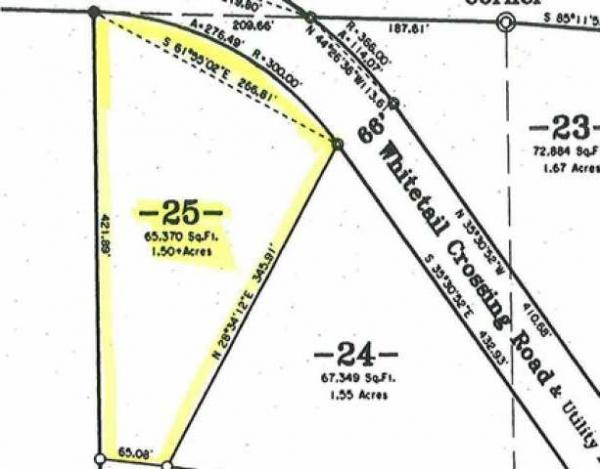 ON Whitetail Crossing Rd #Lot 25, Eagle River, WI 54521