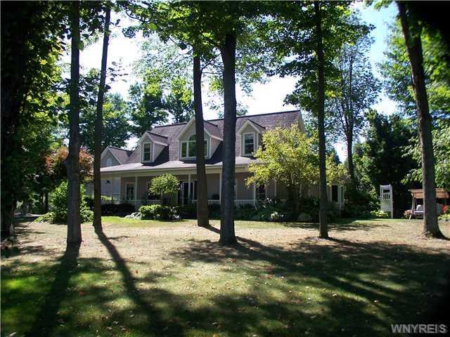 Spectacular Estate at 1468 Church Road, Bennington / Darien, NY